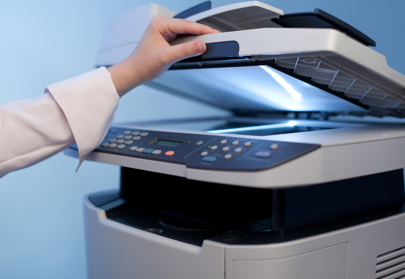 Les options et la vitesse de copie des appareils de reprographie