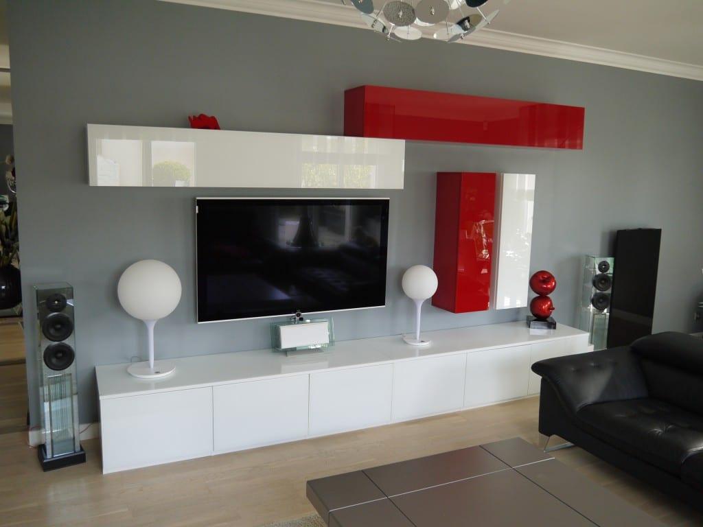 Comment réussir l\'intégration de votre télévision dans votre salon ?